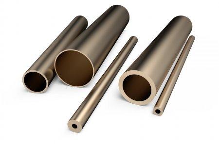 Bronze Metal Tubes